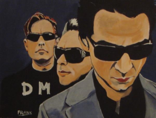 Depeche Mode por Eskamilla